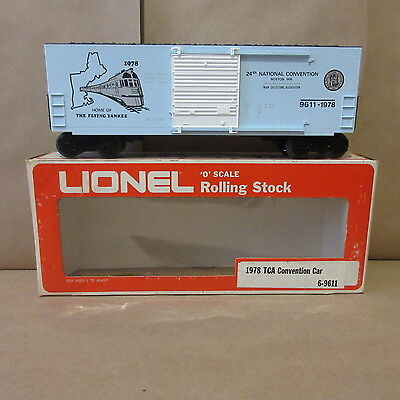 Lionel 1978 TCA Convention Car The Flying Yankee Hi Cube 6-9611 train