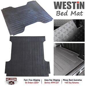 50-6145 Westin Rubber Truck Bed Mat Liner Silverado / Sierra 6'6