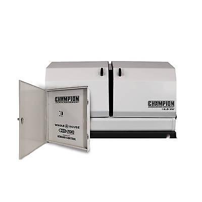 100176 - 12.5kw Champion Home Standby W100amp Nema1 Indoor Transfer Switch