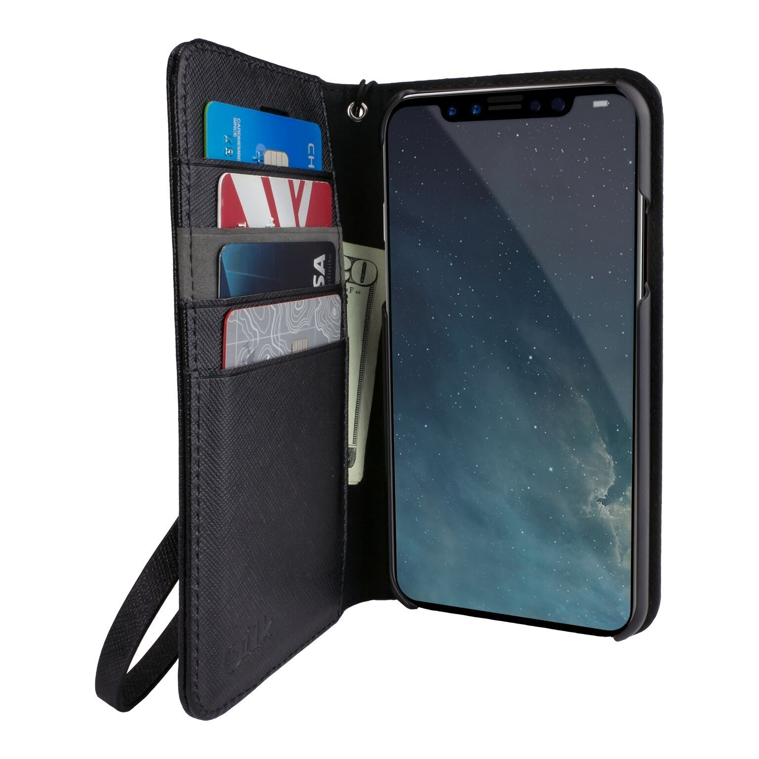 "Smartish iPhone X/XS/XR/XS MAX Wallet Case, Folio ""Keeper of"