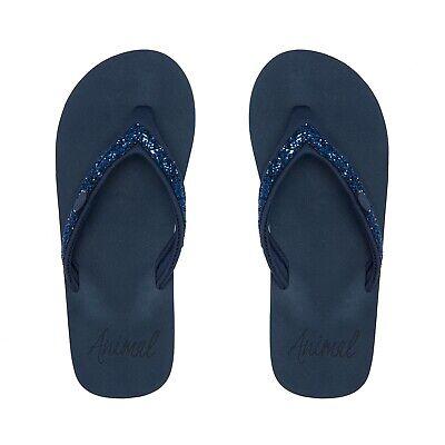 Animal Swish Slim Flip Flops FM0SS302/X24 India Ink Blue 2020 STOCK NEW