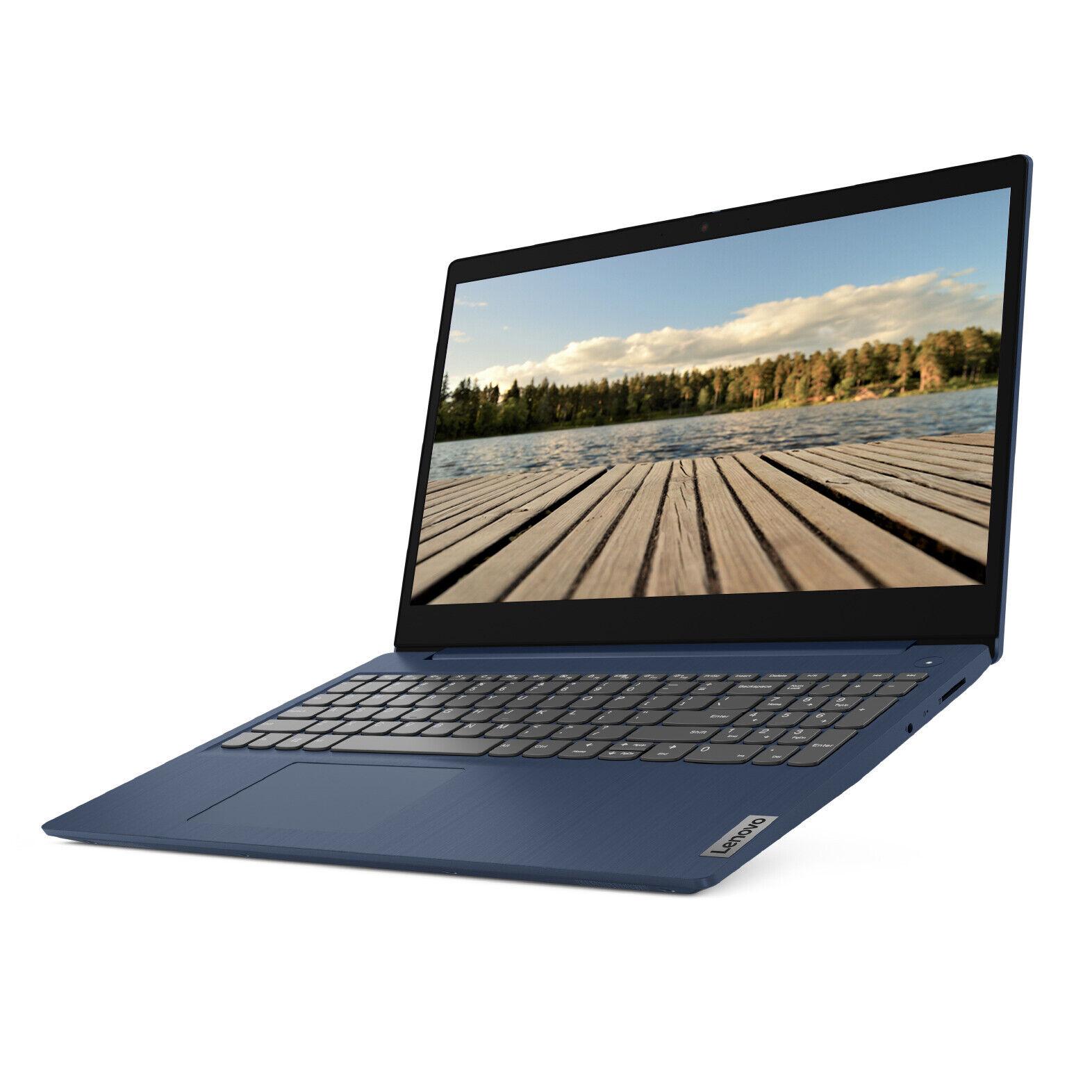 """NEW Lenovo IdeaPad 3 15.6"""" FHD Intel Core i3 128GB SSD 4GB DDR4 RAM Win 10"""