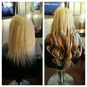 Hair extensions - European virgin hair