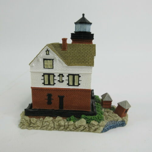 This Little Light of Mine Mini Lighthouse Round Island Michigan Harbor Lights