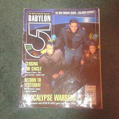 Babylon 5 Official Magazine Volume 2 No 6