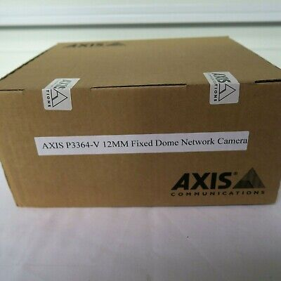 Axis P3364-v 12mm Fixed Dome Network Camera