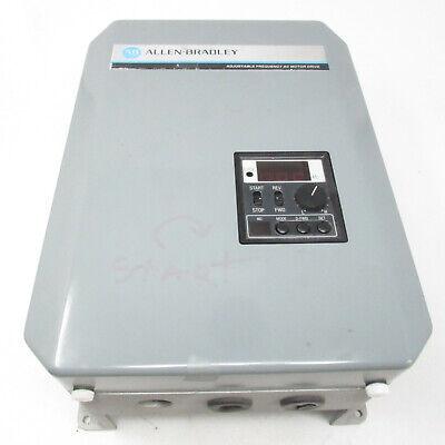 Allen-bradley Adjustable Frequency Ac Drive 8 A 1333-bab Ser C