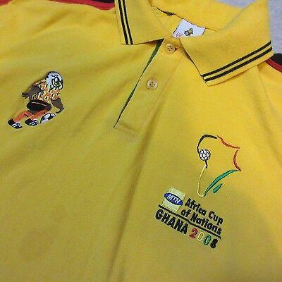 GHANA 2008 AFRICA CUP OF NATIONS FOOTBALL SOCCER MEN XXL SHIRT XX-LARGE RARE image