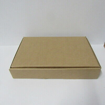 10  X BROWN  CARDBOARD BOXES POSTAL BOXES  CARDBOARD 230 x 170 x 50mm boxes .