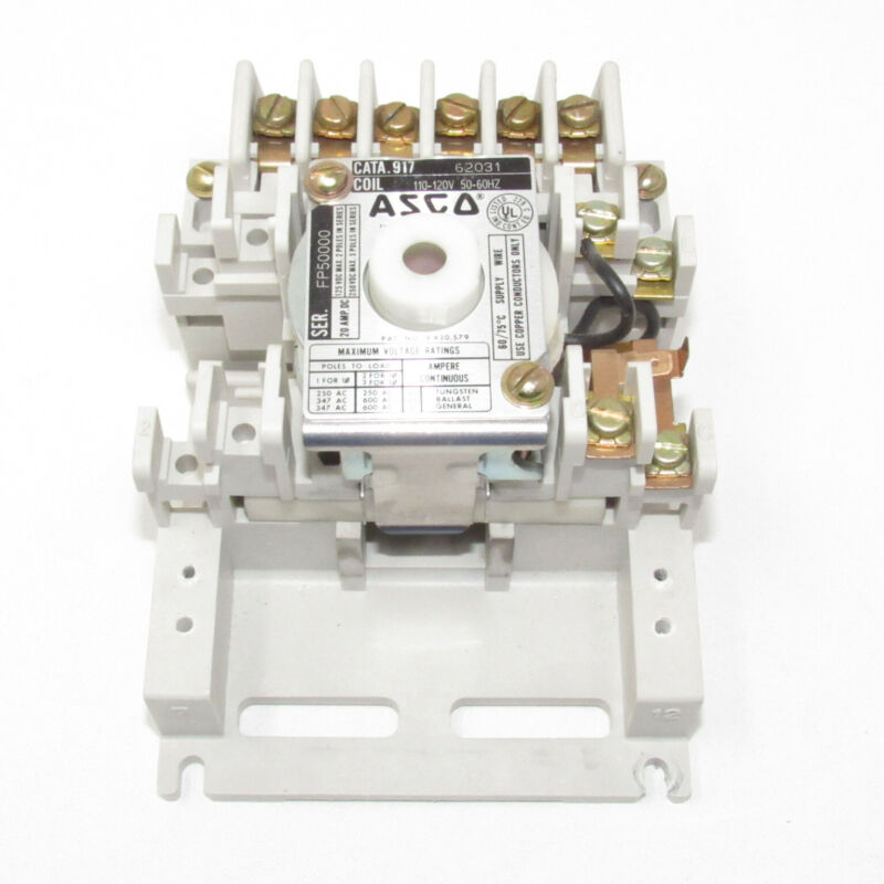 ASCO Eaton Lighting Contactor 917 62031 91762031