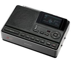 Sangean CL-100 S.A.M.E. Weather Hazard Alert Alarm Clock Radio with AM/FM-RBDS