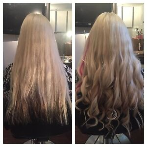 Nanolink hair extensions - European hair