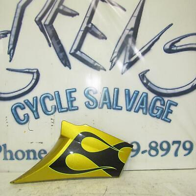 2014 VICTORY CROSS COUNTRY GOLD OEM RIGHT SIDE COVER PANEL COWL FAIRING