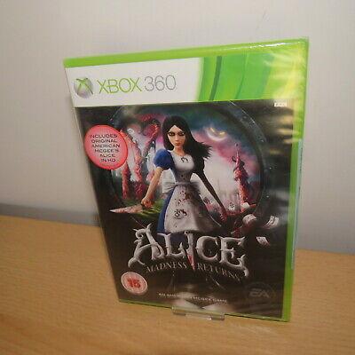 Alice: Madness Returns, xbox 360 new sealed pal