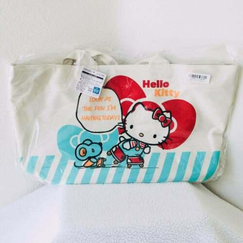 Sanrio Hello Kitty Nakayoshi Tote Bag Jumbo 19 inches x 11 inches Kawaii Toreba