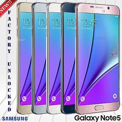 SAMSUNG GALAXY NOTE 5 N920V VERIZON GSM & CDMA UNLOCKED PHONE 32GB 16MP 5.7