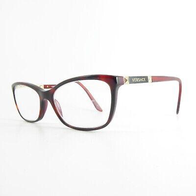 Versace 3186 Full Rim U7743 Used Eyeglasses Frames - Eyewear