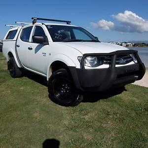 2011 Mitsubishi Triton GLX 4X4 **EASY FINANCE** Merrimac Gold Coast City Preview