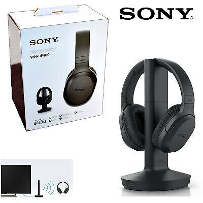 NEW Sony RF400 Wireless Home Theater Wireless Over-the-Ear Headphones for TV