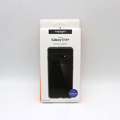 [Spigen] Galaxy S10 Plus Case Crystal Hybrid Crystal Clear for Samsung
