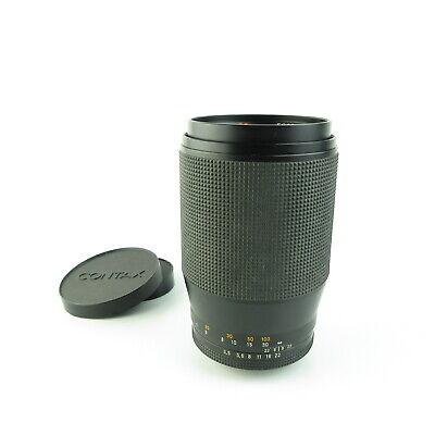 Für Contax / Yashica Carl Zeiss Tele-Tessar 3.5/200 red T Objektiv lens + caps segunda mano  Embacar hacia Spain