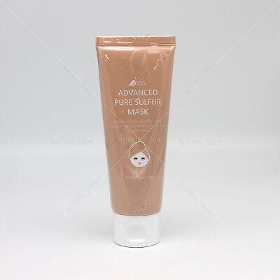 [2Sol] Advanced Pure Sulfur Facial Mask Pack 100g/ 3.52oz K-beauty Jeju volcanic