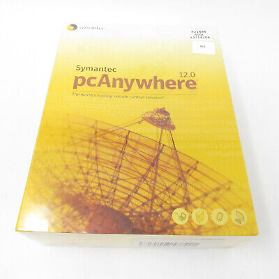 Symantec pcAnywhere Remote Control Software 12.0 Sealed in Package