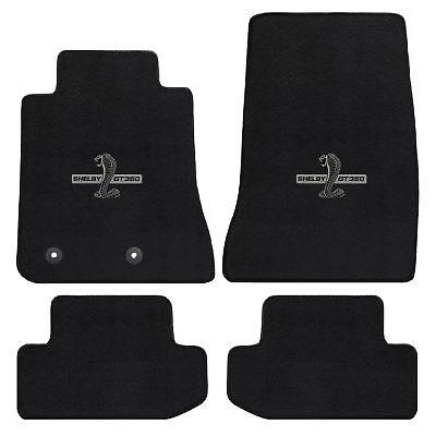 Mustang Carpet Floor Mats w/Shelby Snake GT350 Logo 2013-2014 Coupe&Convertible