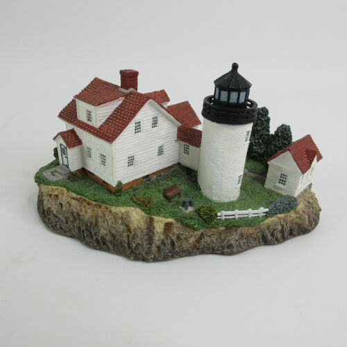 1998 Harbour Lights Lighthouse Bass Harbor Head Maine #214
