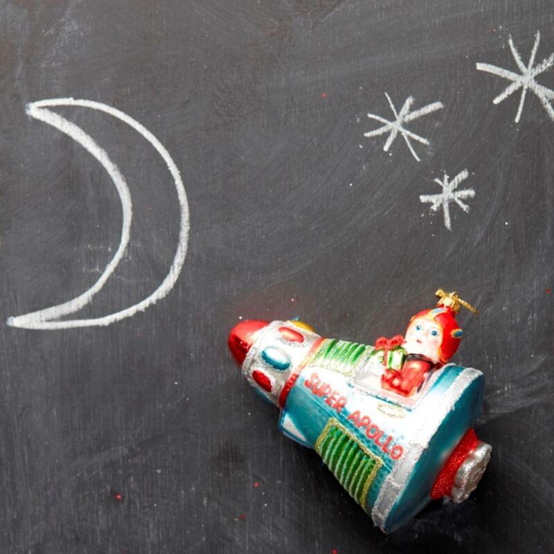 Santa+Spaceship+Bauble+Christmas+Tree+Decoration+Gisela+Graham+