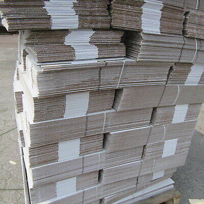 pallet   800 x  CARDBOARD  POSTAL PACKING BOXES   15.5 X 10.5 X 4.5 INCH  WHITE