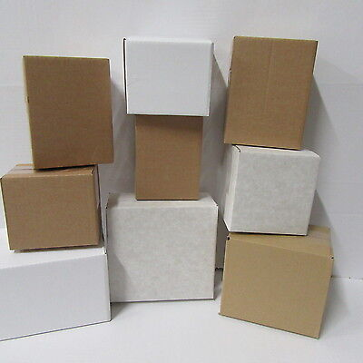 32 X   royal mail small postal packing boxes cardboard boxes  MIXED  small boxes