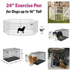 New, unused.. exercise pens and crates