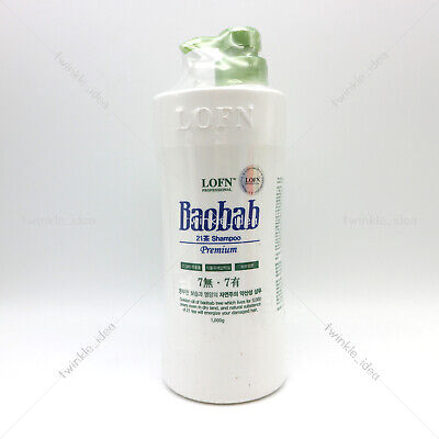 [LOFN] Baobab 21 Shampoo Premium 1000ml for dry general scalp K-beauty
