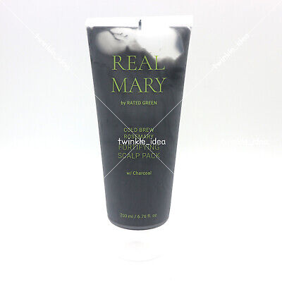 [RATED GREEN] Real Mary Fortifying Scalp Pack 200ml / 6.76 fl.oz K-beauty