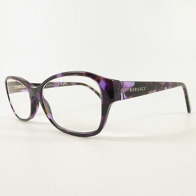 Versace 3176 Full Rim F6879 Used Eyeglasses Frames - Eyewear