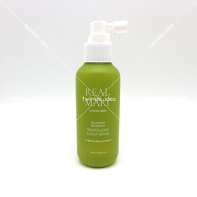[RATED GREEN] REAL MARY Energizing Scalp Spray 120ml(4oz) Scalp Care K-beauty
