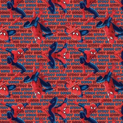 Marvel Spider-Man Spiderman Spidey Sense 100% Cotton fabric by the yard](Spider Sense Spider Man)