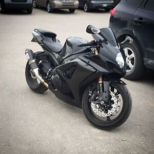 Back up for Sale 2007 GSXR 1000 fully custom for sale by owner