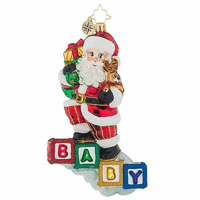 [Christopher Radko Ornaments - BABY'S FIRST STEP Christmas Ornament 1019113 Baby</Title]