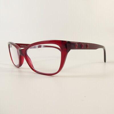 Versace 3249 Full Rim G7322 Used Eyeglasses Frames - Eyewear