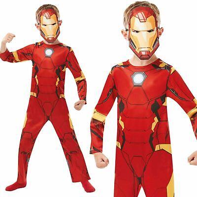 Offiziell Jungen Iron Man Kostüm Marvel Avengers Superheld Kostüm - Offizielle Avengers Kostüm