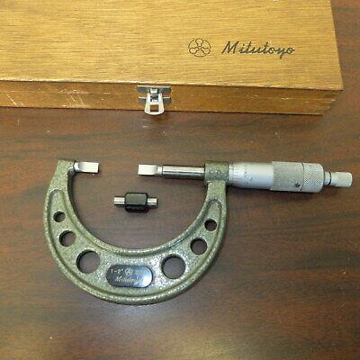 1-2 Mitutoyo Blade Micrometer