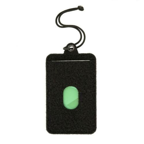TACTICAL MORALE MILITARY HOOK & LOOP FASTENER PATCH PANEL INSERT ID CARD BADGE