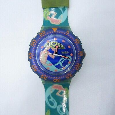 "Vintage SWATCH Watch ""Sailor's Joy"" SDG100 1993 SCUBA NEW NOS"