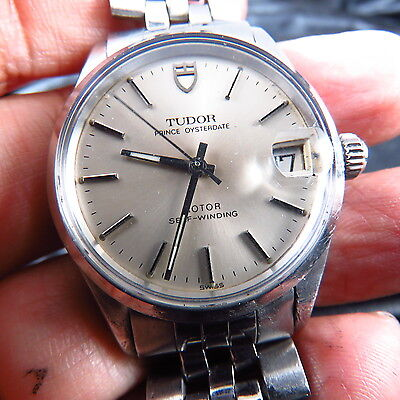 GENUINE SWISS MADE TUDOR PRINCE OYSTERDATE AUTOMATIC MEN WATCH FREE SHIPPING