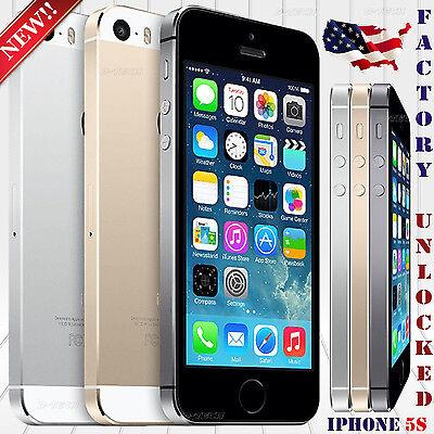 Apple Iphone 5S  16Gb 32Gb 64Gb   Factory Unlocked  Phone Ios   8Mp 4  Hd 4G Lte