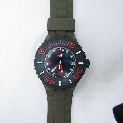 "Vintage SWATCH Watch ""Whalebone"" SUUG400 2013 Scuba 200m"