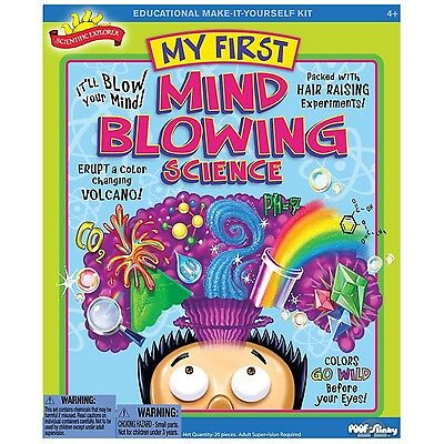 Scientific Explorer Mind Blowing Science Kit  Educational Set For 6  Age  0Sa221