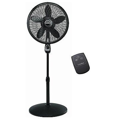 Lasko 18 Inch Oscillating Cyclone Pedestal Stand Fan with Remote Control   1843